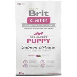 Brit Care Puppy Salmon & Potato Grain Free crocchette cucciolo senza cereali