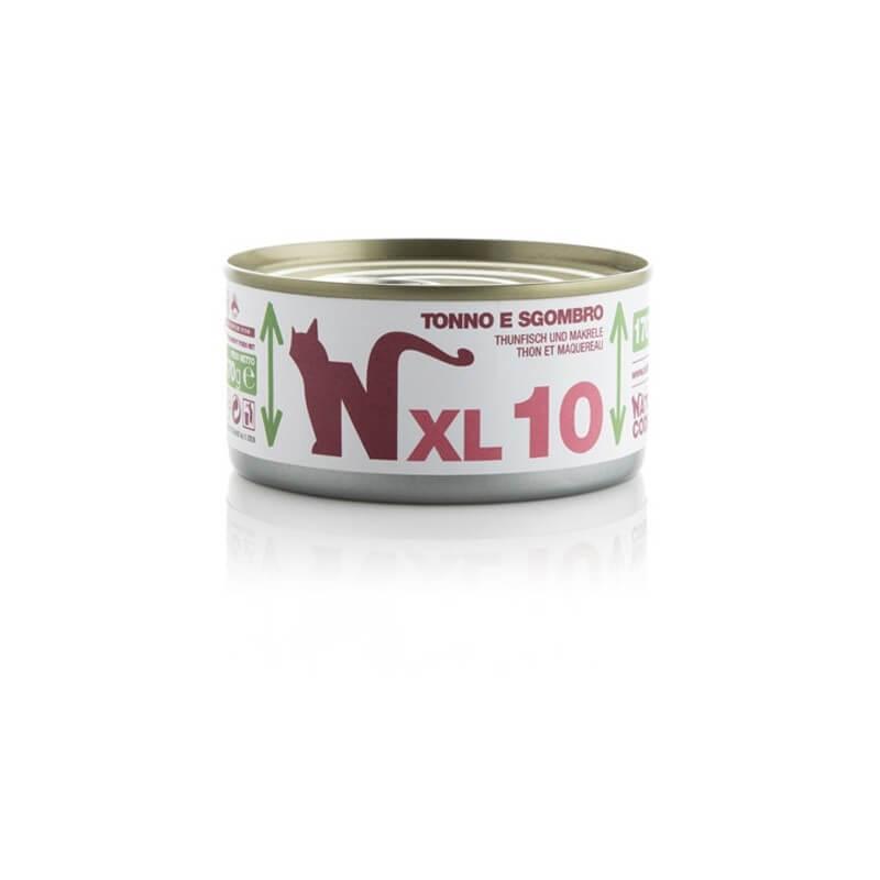 Natural Code MULTIPACK 48 pezzi XL 10 Tonno e Sgombro 170g umido gatto