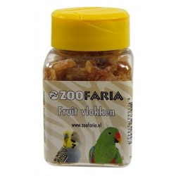 ZOOFARIA Fruit Flakes MIX 70g - snack per uccelli
