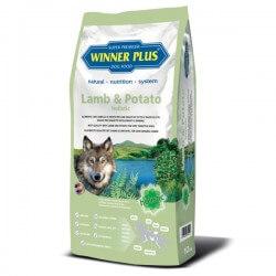 Winner Plus Lamb & Potato holistic 150g crocchette cane