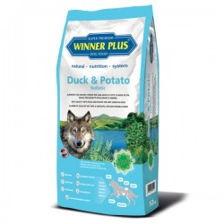 Winner Plus Duck & Potato holistic 150g crocchette cane