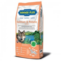 Winner Plus Salmon & Potato holistic 150g crocchette cane