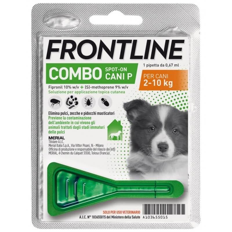 Frontline Combo Cane Piccolo 2-10Kg 1 pipetta