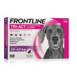 Frontline Tri-Act cane 20-40kg 3 pipette da 4ml