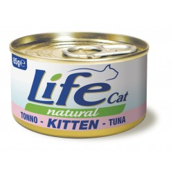 Life Cat Kitten Tonno 85g umido gatto