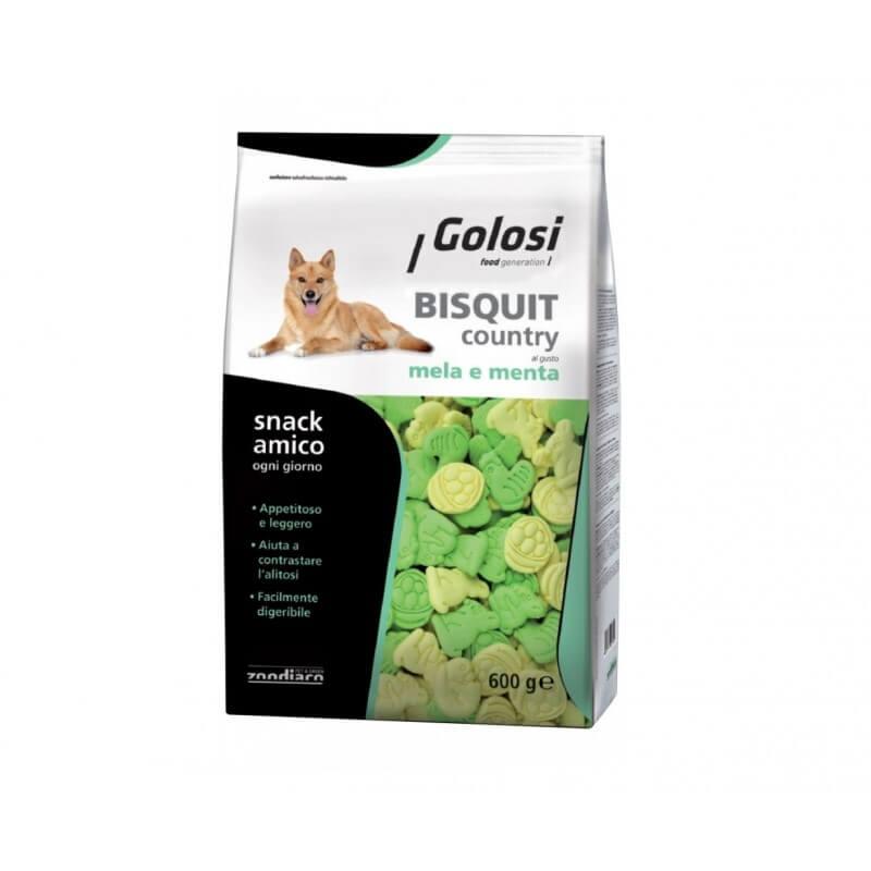 Golosi Biscotti Country Mela e Menta 600g per cani