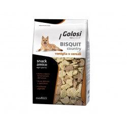Golosi Biscotti Country Vaniglia e Cereali 600g per cani