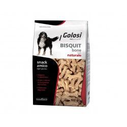Golosi Biscotti Bone Naturale 600g per cani
