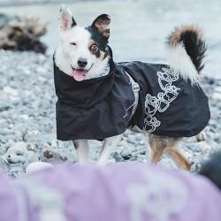 Hurtta Giacca Drizzle per cani con fodera e waterproof