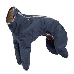 Hurtta Tuta Quilted termica invernale per cani Blu