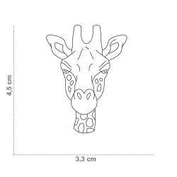Medaglietta Giraffa