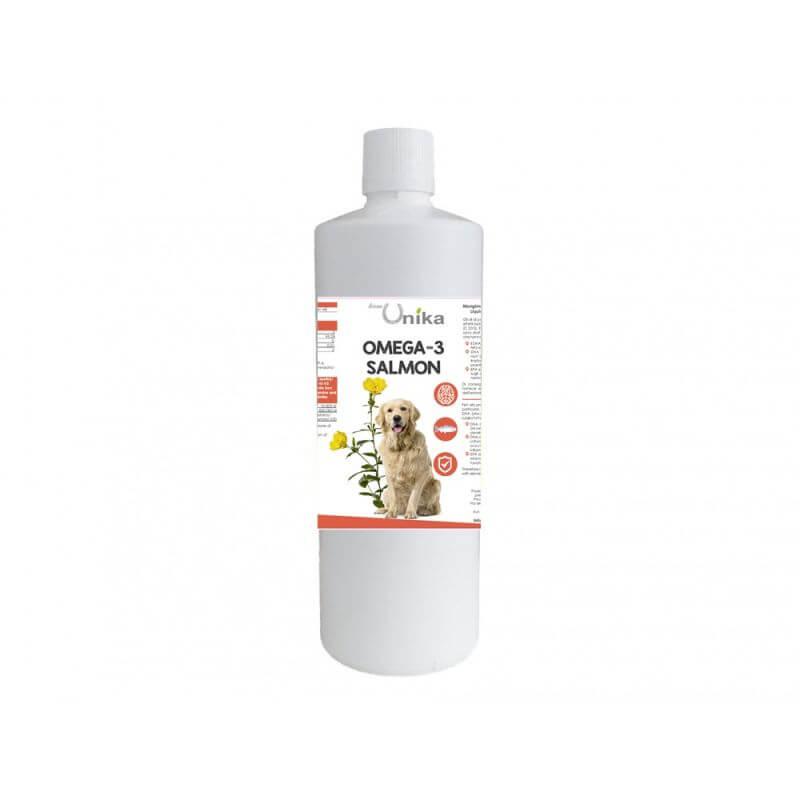 Unika Omega 3 Salmon olio di salmone per cani e gatti