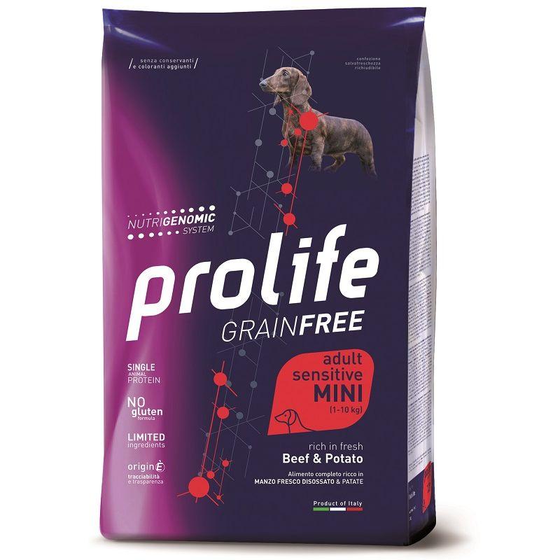 Prolife Mini Manzo e Patate Nutrigenomic crocchette cane