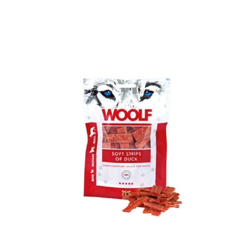 Woolf Filetto di Anatra 100g snack cani
