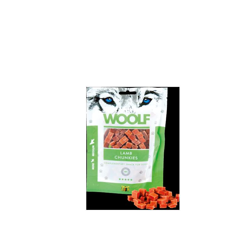 Woolf Bocconcini di Agnello 100g snack cani