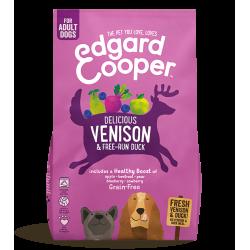 Edgard&Cooper Adult Cervo Fresco e Anatra Ruspante crocchette cane