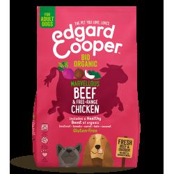 Edgard&Cooper Adult Manzo e Pollo Biologici crocchette cane