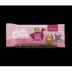 Edgard&Cooper Barretta Anatra e Pollo 25g snack per cani