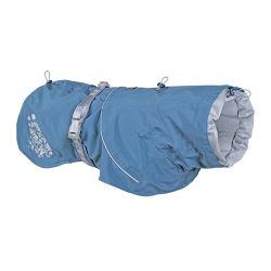 Hurtta Impermeabile Monsoon Coat per cani Blu di Faenza