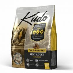 Kudo Mini Adult Pollo 2,5kg grain free pressato a freddo per cani