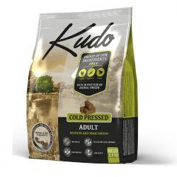Kudo Adult Pollo 2,5kg Medium Maxi grain free pressato a freddo per cani