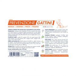 Vet Line Prevenzione Gattini Maiale e Anatra 400g crocchette kitten
