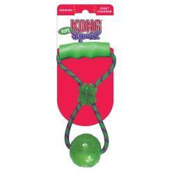 Kong Squeezz Ball medium with Handle