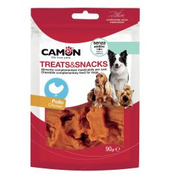Camon Treats Snack al Pollo 90g snack per cani