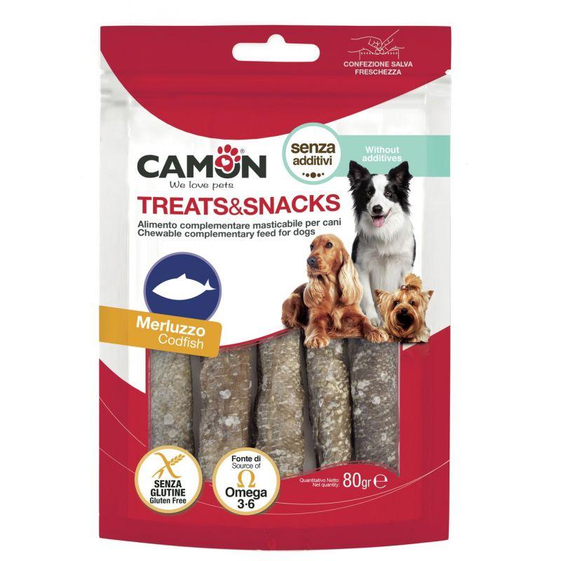 Camon Roll di Merluzzo 80g snack per cani