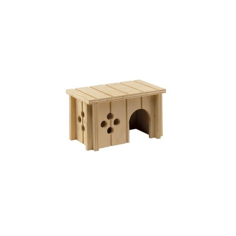 Ferplast SIN 4641 casetta in legno per criceti