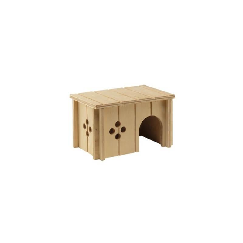 Ferplast SIn 4642 casetta in legno per roditori