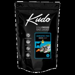Kudo Light & Senior Adriatic Fish 12kg Medium Maxi pressato a freddo per cani