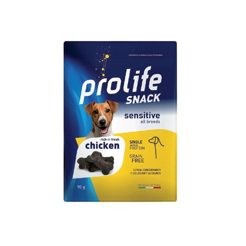 Prolife snack Sensitive Pollo fresco 90g cane