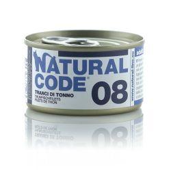 Natural Code 08 Tranci di Tonno 85g umido gatto