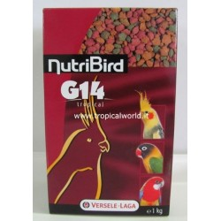 NutriBird G14 Tropicat 1kg estruso small medium