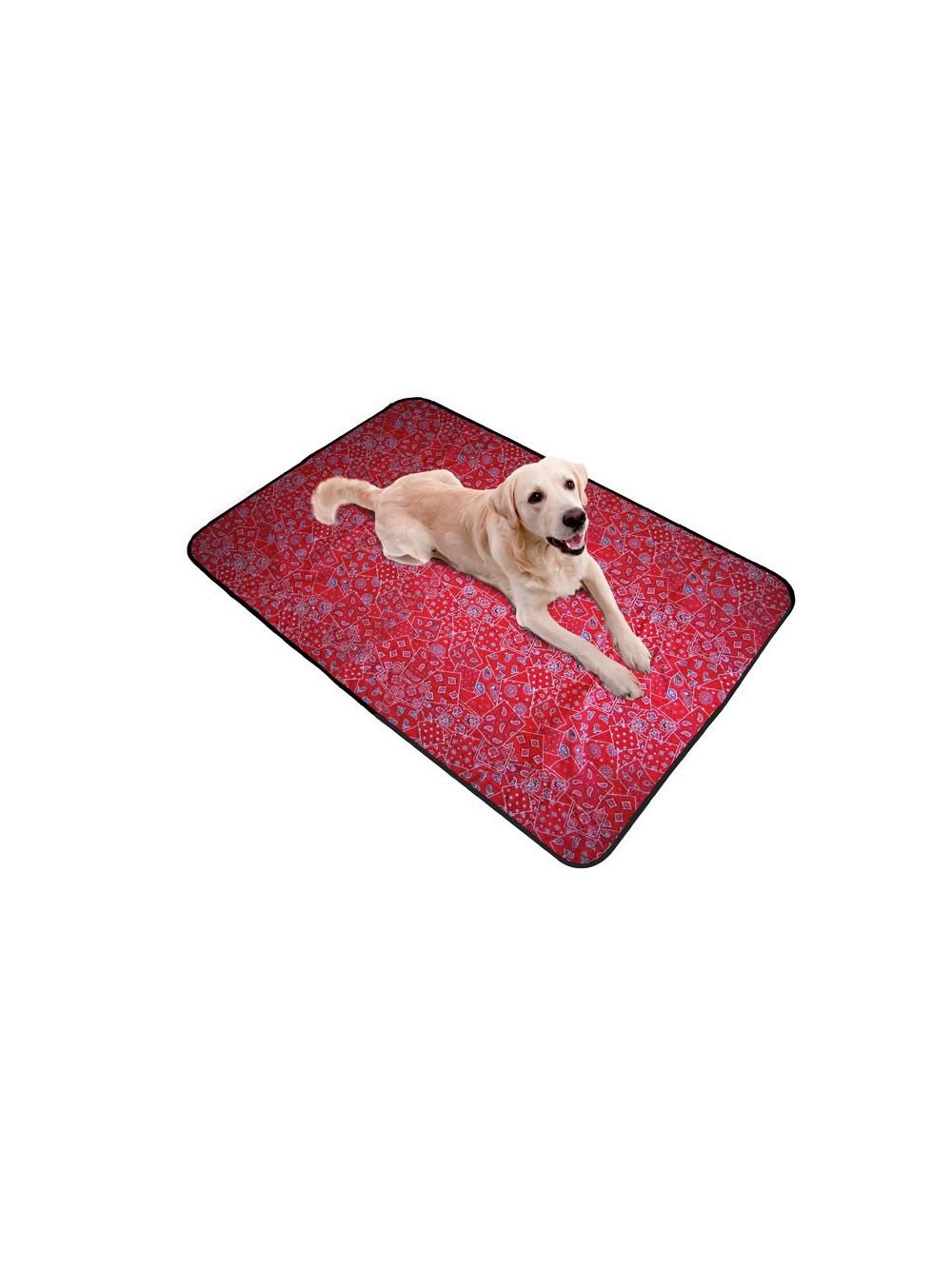 Aqua coolkeeper tappeto refrigerante xxl per cane red - Tappetino riscaldante per cani ...