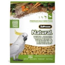 ZuPreem Natural Large Parrots 1,36kg