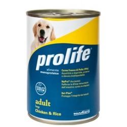 Prolife Dog Adult Large Chicken & Rice 400g umido