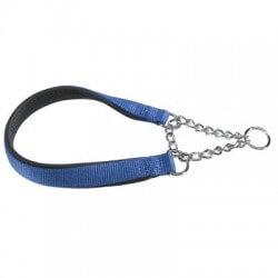 Ferplast Daytona collare semistrozzo in nylon e catena per cani