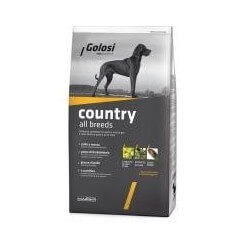 Golosi Dog Country 12kg all breeds crocchette cane
