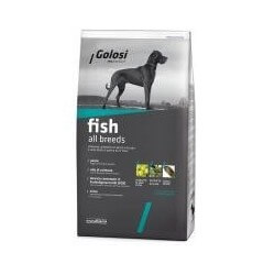 Golosi Dog Fish 12kg all breeds crocchette cane