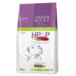 Green Meat HP&P Adult al Cavallo 12kg crocchette cane