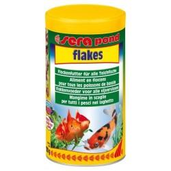 Sera Pond Flakes mangime in fiocchi per pesci