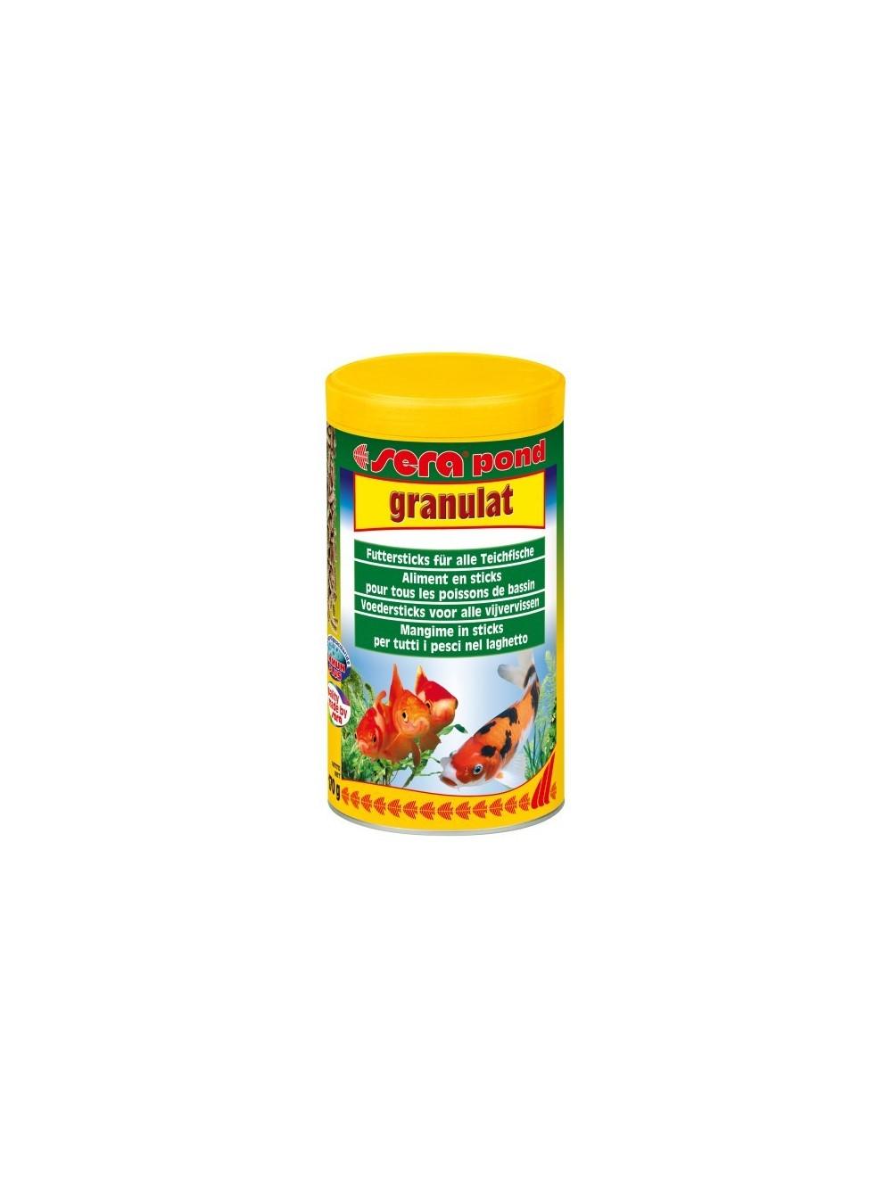Sera pond granulat mangime in pellet per pesci for Pellet per tartarughe
