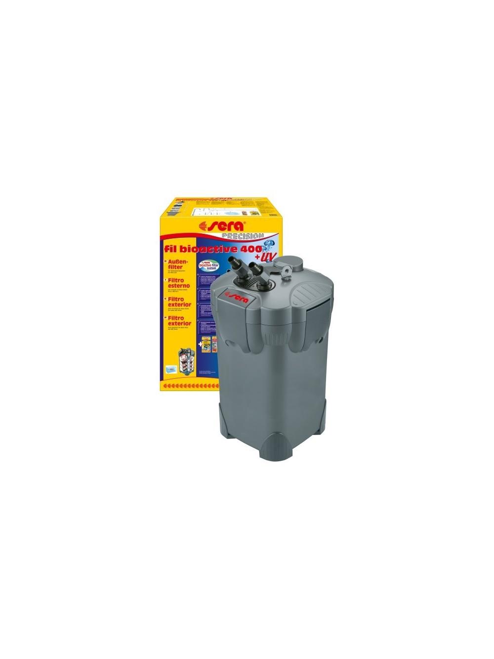 Sera fil bioactive 400 uv filtro esterno per acquari for Sera acquari
