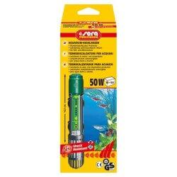 Sera Termoriscaldatore 50w per aquari
