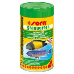 Sera Granugreen mangime granulato per pesci