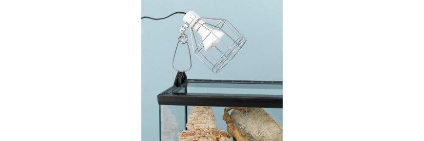 Illuminazione per Terrari: Luci Lampade Radiatore